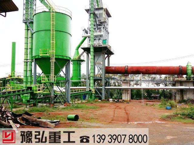 泰国活性石灰窑项目现场