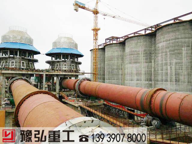西安双条石灰回转窑项目